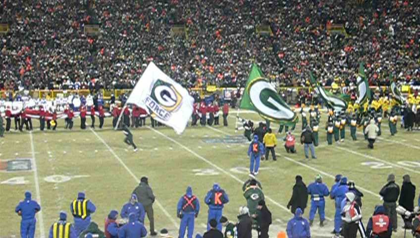 NFC Championship Packers Introduced