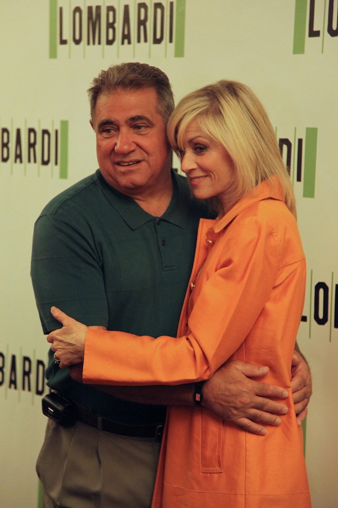 <div class='photo-info'><span class='counter'>8 of 11</span>Posted Sep 09, 2010</div><div class='photo-title'>Lombardi Couple</div><div class='photo-body'>Dan Lauria (Vince Lombardi) and Judith Light (Marie Lombardi) star as Vince and Marie Lombardi in the new play on Broadway</div>