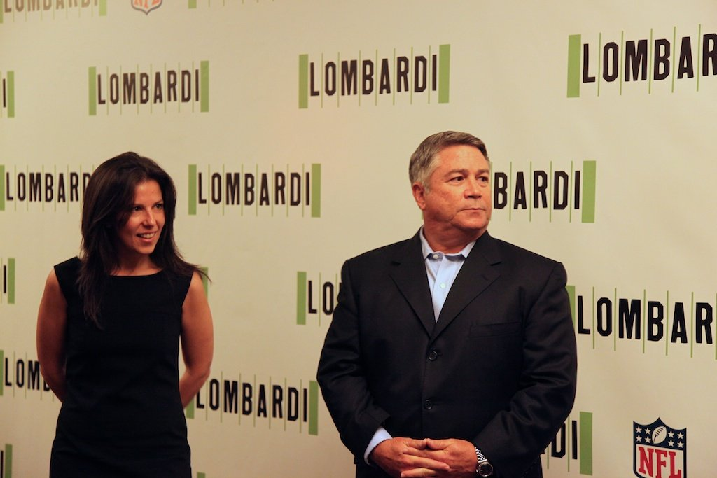 <div class='photo-info'><span class='counter'>3 of 11</span>Posted Sep 09, 2010</div><div class='photo-title'>Lombardi Play Producers</div><div class='photo-body'>Fran Kirmser and Tony Ponturo</div>