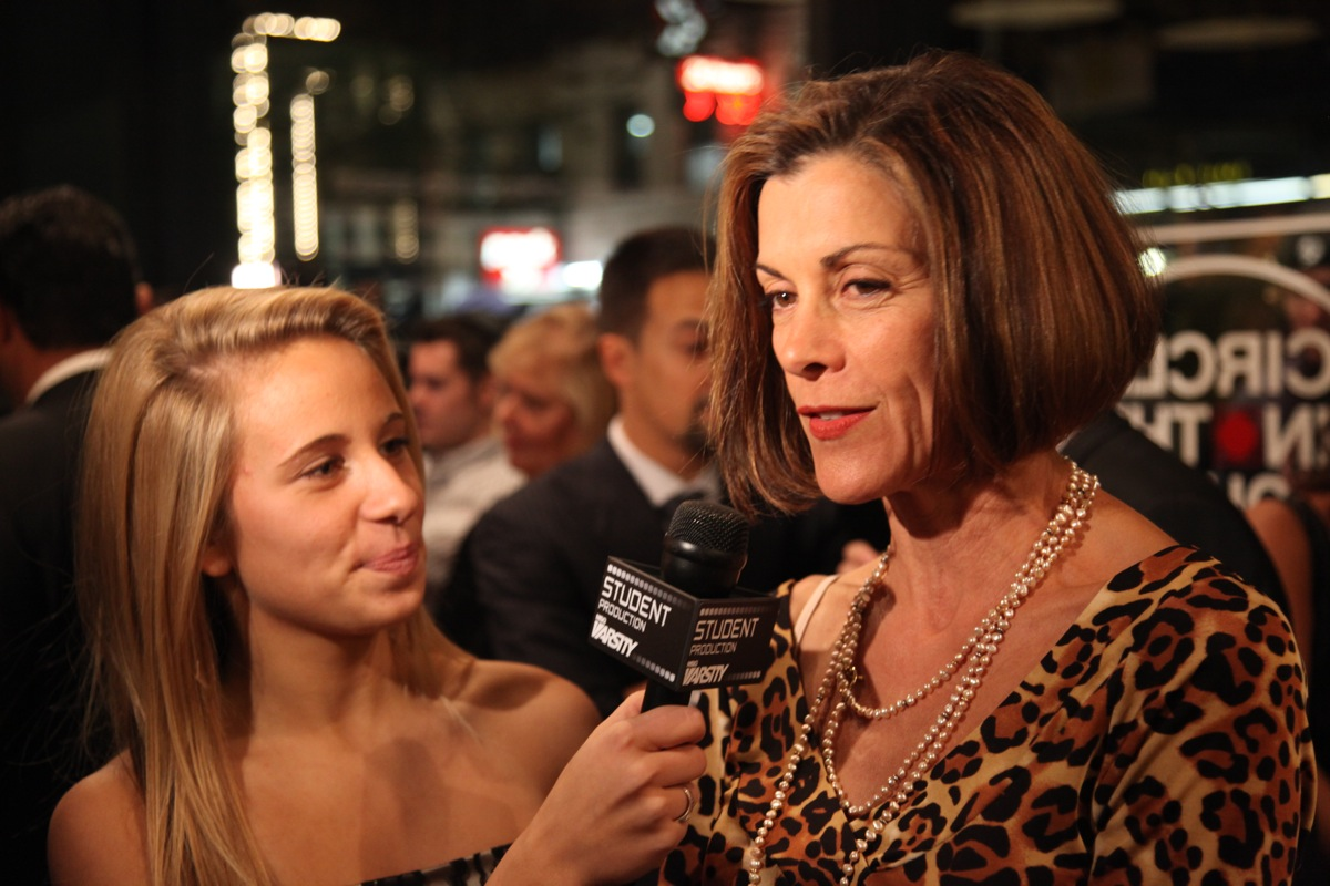 <div class='photo-info'><span class='counter'>17 of 18</span>Posted Oct 25, 2010</div><div class='photo-title'>Wendie Malick talks to MSG</div><div class='photo-body'>Wendie Malick talks to MSG on opening Night of LOMBARDI a new American Play on Broadway</div>