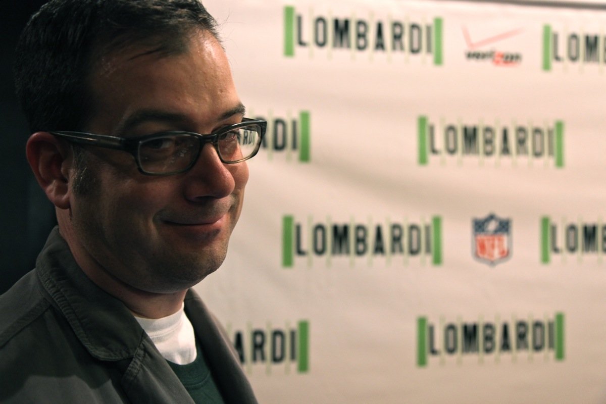 Aaron Nagler at LOMBARDI Opening Night