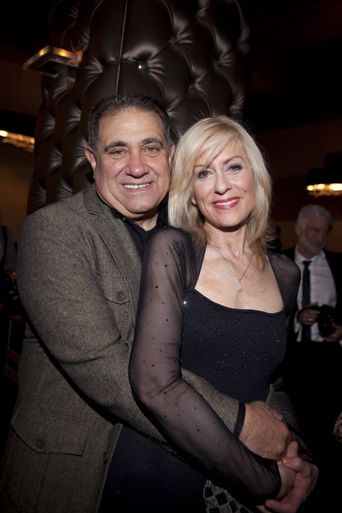 <div class='photo-info'><span class='counter'>1 of 18</span>Posted Oct 26, 2010</div><div class='photo-title'>Dan Lauria &amp; Judith Light</div><div class='photo-body'>Dan Lauria (Vince Lombardi) & Judith Light (Marie Lombardi) at the post-party after the opening of LOMBARDI on broadway  credit lombardibroadway.com</div>