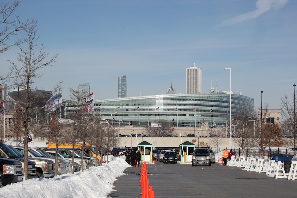 <div class='photo-info'><span class='counter'>29 of 49</span>Posted Jan 25, 2011</div><div class='photo-title'>Soldier Field</div><div class='photo-body'>View from Hardcore Tailgate area</div>
