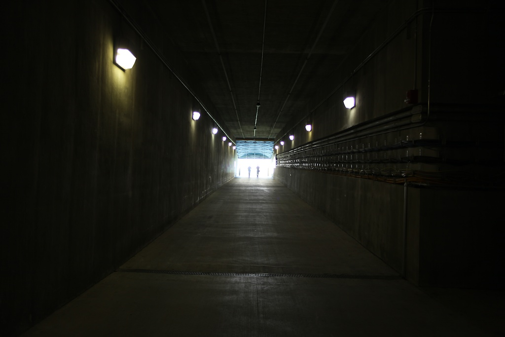 The Tunnel at Lambeau
