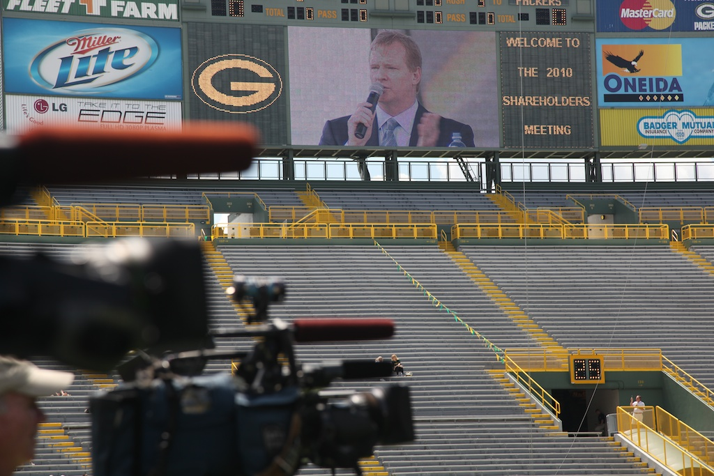 Roger Goodell Addresses Packer Shareholders