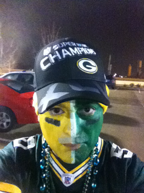 <div class='photo-info'><span class='counter'>48 of 48</span>Posted Feb 12, 2011</div><div class='photo-title'>My Favorite Hat</div><div class='photo-body'>obtained 20 minutes after the #packers won the Super Bowl  You can see my other Twitpic photos online here: http://twitpic.com/photos/coreybehnke</div>