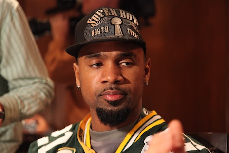 <div class='photo-info'><span class='counter'>19 of 55</span>Posted Feb 02, 2011</div><div class='photo-title'>Charles Woodson</div><div class='photo-body'>Superbowl Day 3 with the Green Bay Packers. Wednesday Feb 2nd 2011</div>