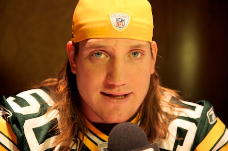 <div class='photo-info'><span class='counter'>47 of 55</span>Posted Feb 02, 2011</div><div class='photo-title'>A.J. Hawk</div><div class='photo-body'>Superbowl Day 3 with the Green Bay Packers. Wednesday Feb 2nd 2011</div>