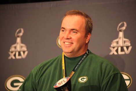 Mike McCarthy answers questions