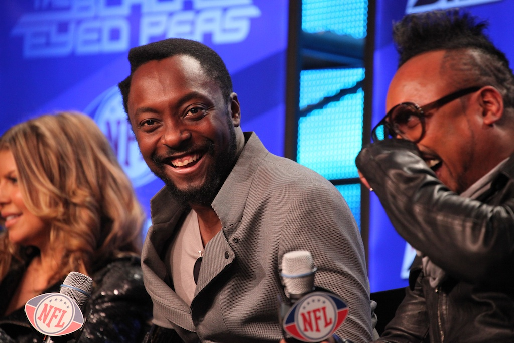 <div class='photo-info'><span class='counter'>34 of 73</span>Posted Feb 04, 2011</div><div class='photo-title'>Wil.I.am of the Black Eyed Peas</div><div class='photo-body'>NFL Super Bowl Media Center pics from Friday Feb 4th 2011</div>