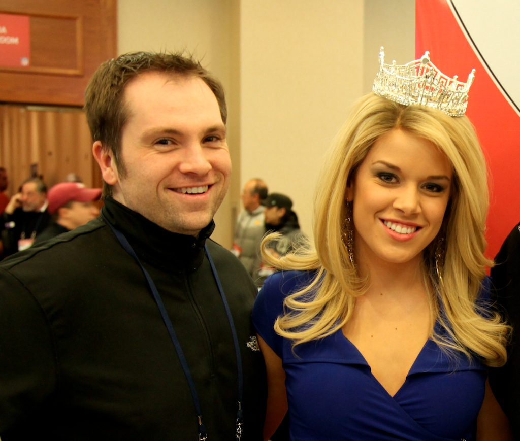 Jason Wilde & Miss America Teresa Scanlan