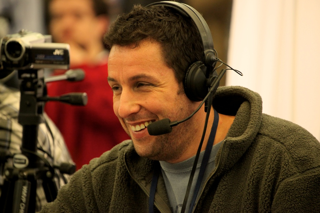 <div class='photo-info'><span class='counter'>53 of 73</span>Posted Feb 04, 2011</div><div class='photo-title'>Adam Sandler</div><div class='photo-body'>NFL Super Bowl Media Center pics from Friday Feb 4th 2011</div>