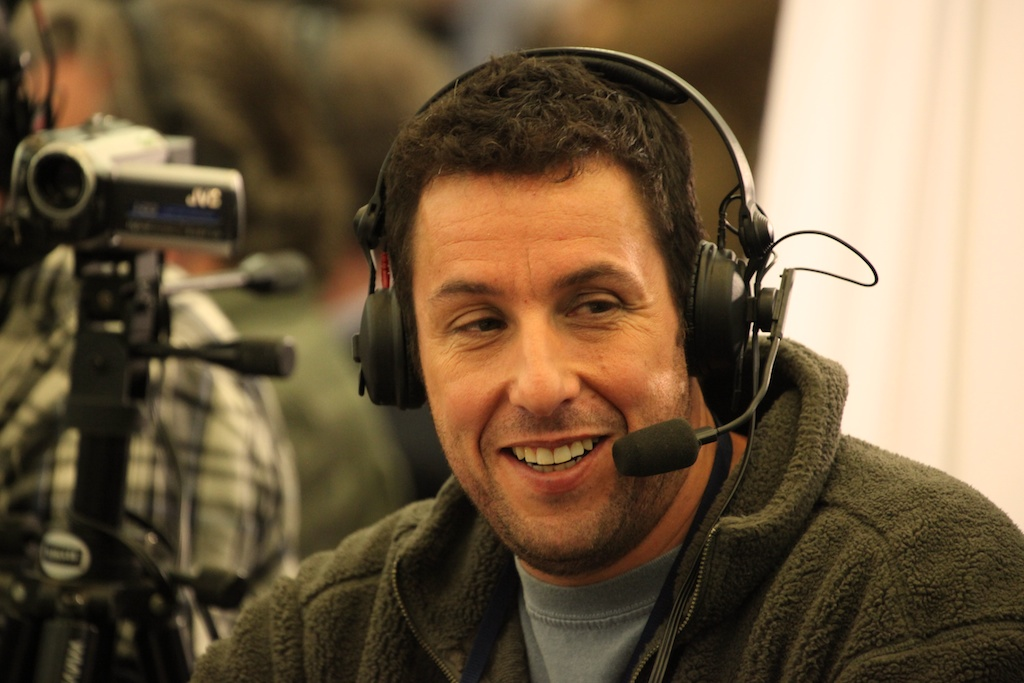 <div class='photo-info'><span class='counter'>54 of 73</span>Posted Feb 04, 2011</div><div class='photo-title'>Adam Sandler</div><div class='photo-body'>NFL Super Bowl Media Center pics from Friday Feb 4th 2011</div>