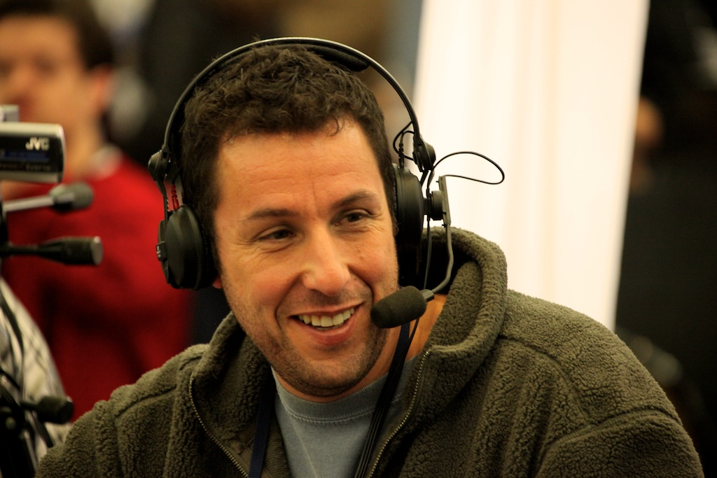 <div class='photo-info'><span class='counter'>68 of 73</span>Posted Feb 04, 2011</div><div class='photo-title'>Adam Sandler</div><div class='photo-body'>NFL Super Bowl Media Center pics from Friday Feb 4th 2011</div>