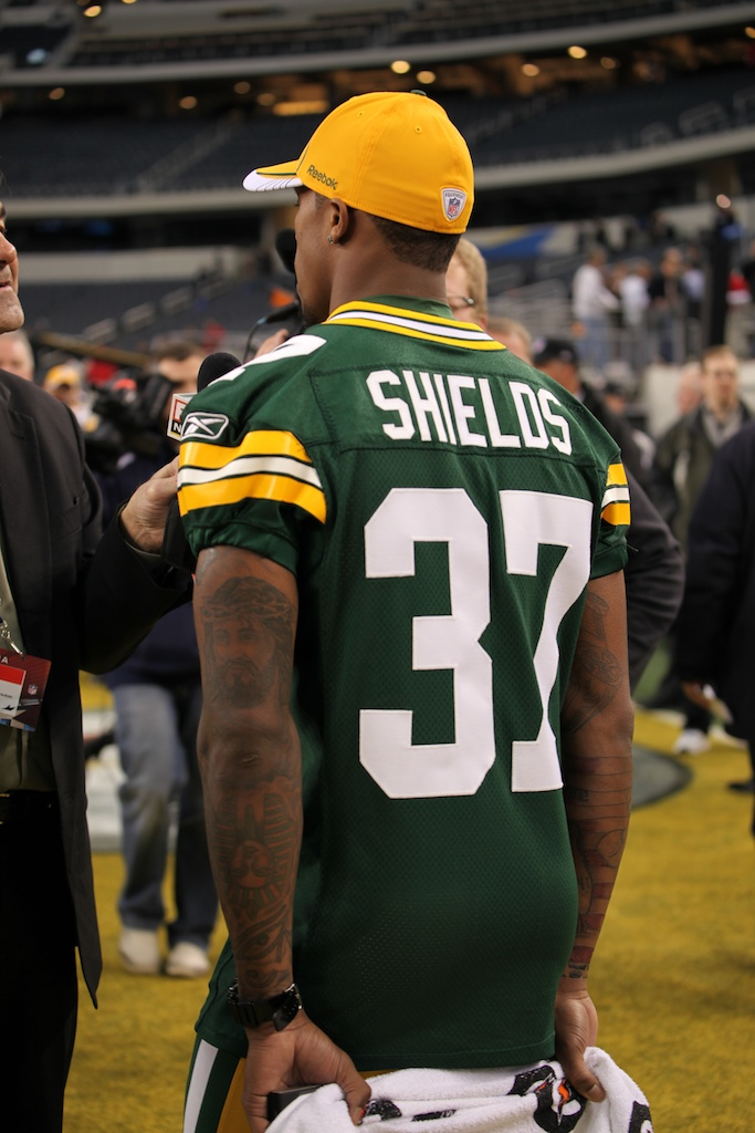 <div class='photo-info'><span class='counter'>62 of 136</span>Posted Feb 01, 2011</div><div class='photo-title'>Sam Shields</div><div class='photo-body'>Superbowl Media Day with the Green Bay Packers. Tuesday Feb 1st 2011</div>