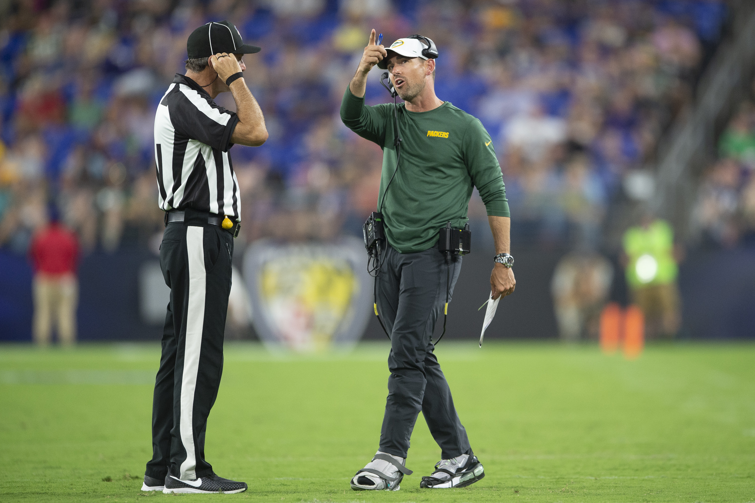 Aaron Rodgers Blasts Reports That He's On Bad Terms With Matt LaFleur