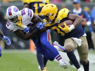 Lions' porous run defense offers perfect opportunity for Packers to feature Aaron Jones