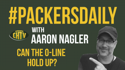 #PackersDaily: Can the O-Line Hold Up?