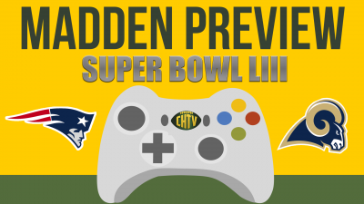 Super Bowl LIII Madden Preview:  New England Patriots vs Los Angeles Rams