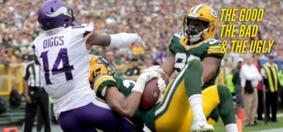 The Good, the Bad and the Ugly: Vikings vs Packers