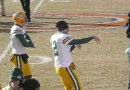 Rodgers Pre-game Warm-Up