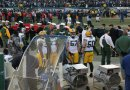 Packer sideline pre-game