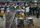 Packers Sideline before National Anthem