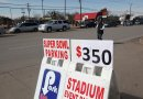 $350 Super Bowl Parking