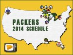 Packers Playing NFL Opener in Seattle Highlights 2014 Schedule