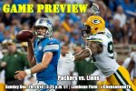 Game Preview: Packers vs. Lions, Week 17