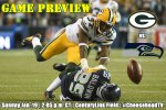 Game Preview: Packers at Seahawks, NFC Championship Game