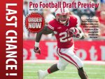 "Last Chance to Pre-Order Cheesehead TV's ""Pro Football Draft Preview"""
