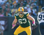 Corey Linsley A Surprise Non-Participant In Tuesday's OTA