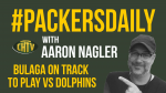 #PackersDaily: Bulaga on track to play vs Dolphins