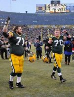 Sitton and Lang-Resident Packers Comedians