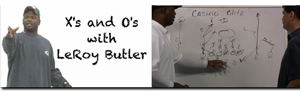 Video: Leroy Butler X&O on Packers Week 3