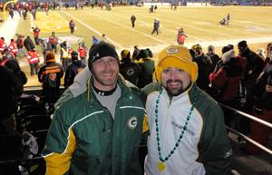 NFC Championship Packer Fan Photo Gallery
