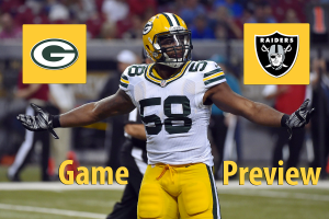 Game Preview: Packers vs. Raiders Preseason Week 3