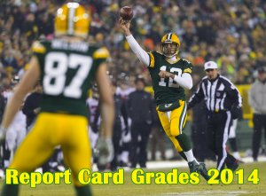 Green Bay Packers 2014 Report Card Grades: Offense